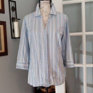 SALE Riders by Lee Button Down Blouse 3X